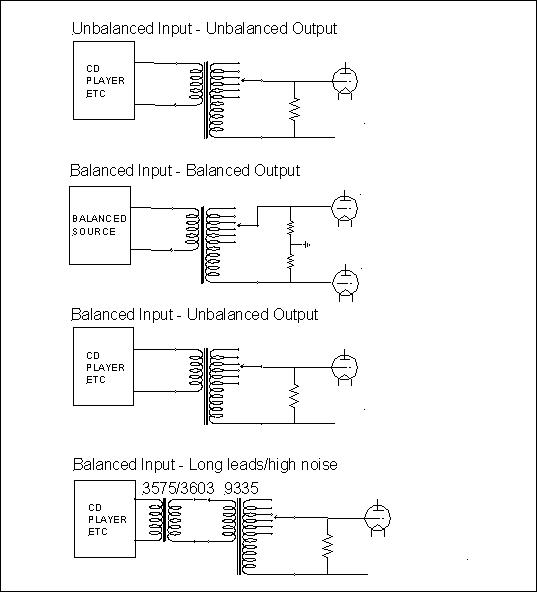 Transformer volume control schematic