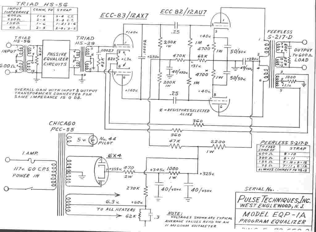 hammond organ wiring diagram