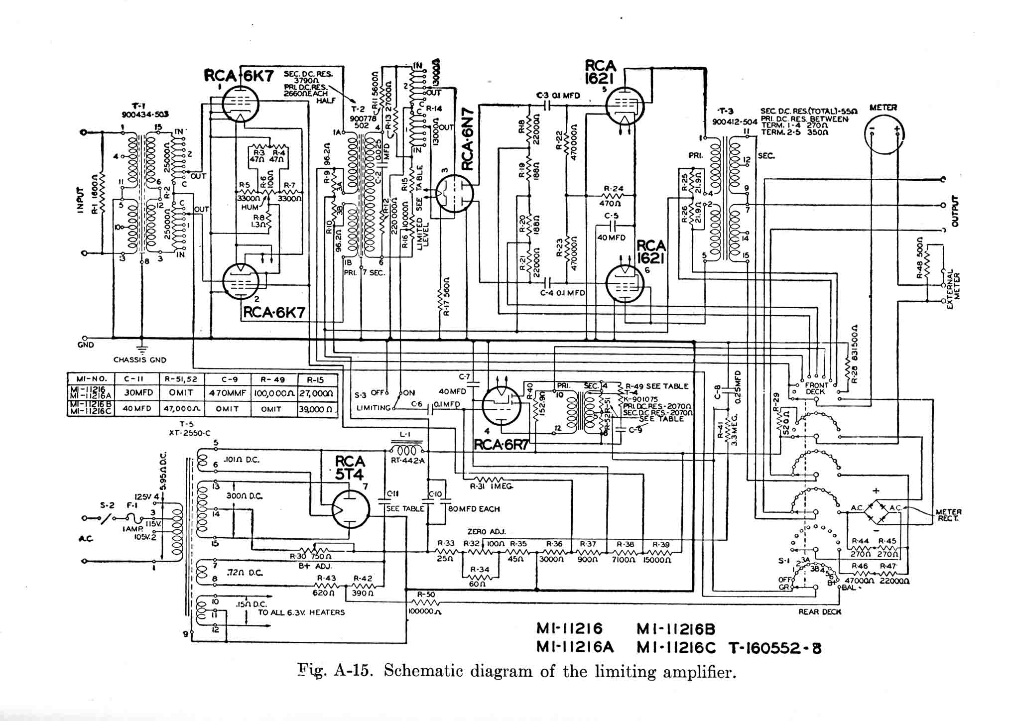 Vintage Microphones Wiring Diagrams Library Diagram Moreover 7 Pin Din Connector On Xlr Rca 86 Al Limiting Amplifier