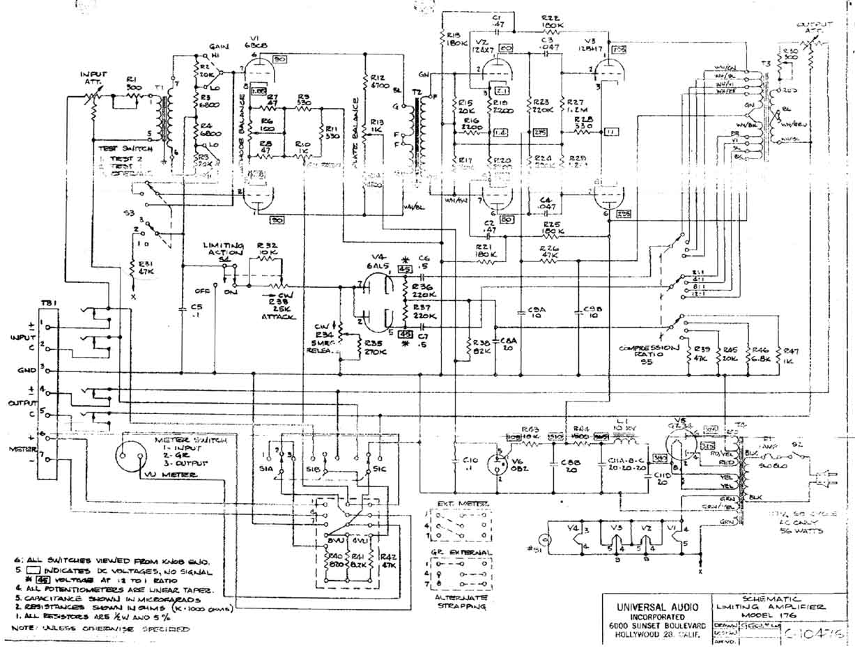 Sowter Vintage Audio Transformers Peerless Industrial Mixer Wiring Diagram Output Pp Triode