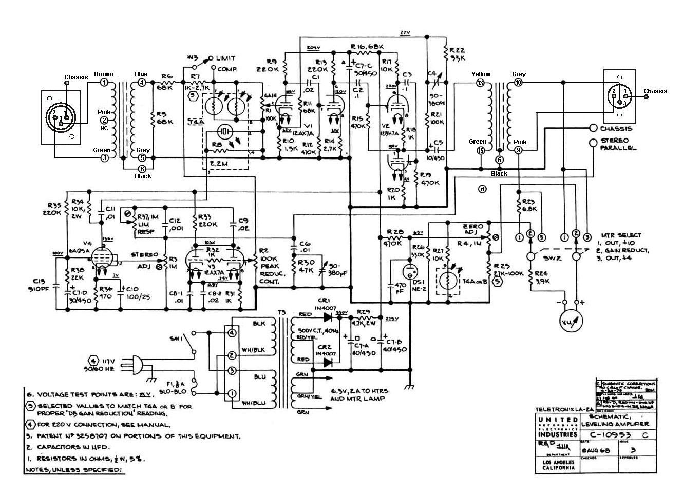 sowter co uk  schematics  la2a jpg