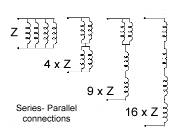 Series paralllel secondary connections